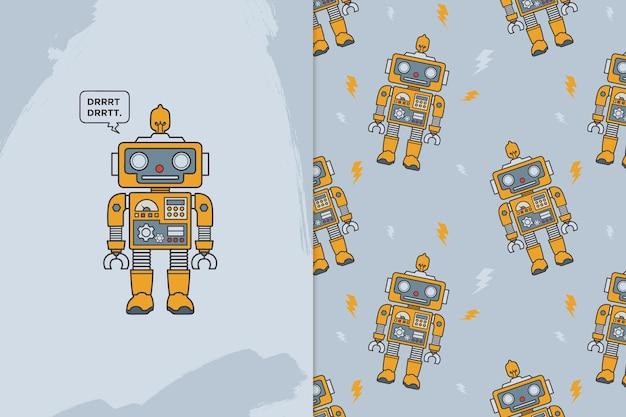 Patrón de robots