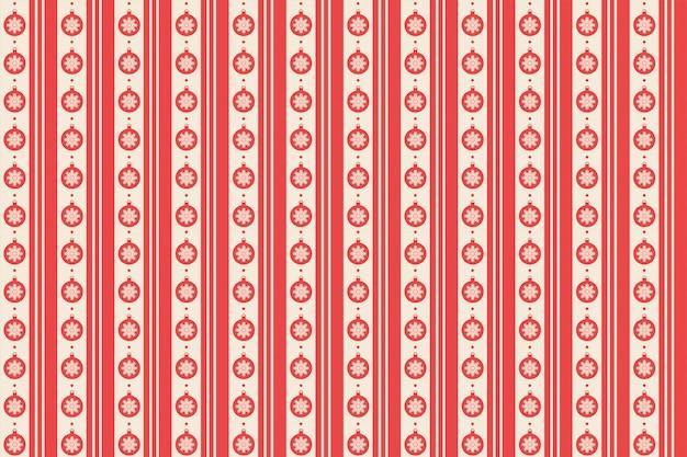 Patrón rojo feliz navidad sin costuras