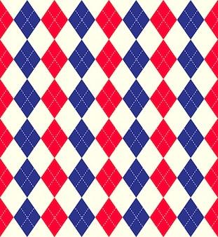 Patrón de rombos colorido