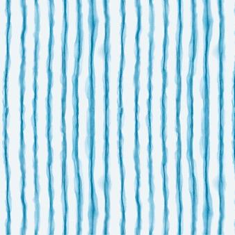 Patrón de shibori de líneas de acuarela