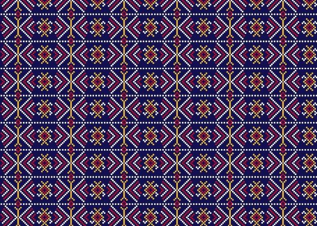 Patrón de songket tradicional