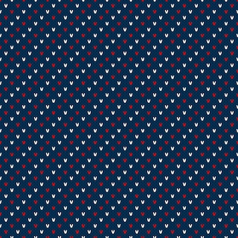 Patrón de suéter de punto a rayas abstracto