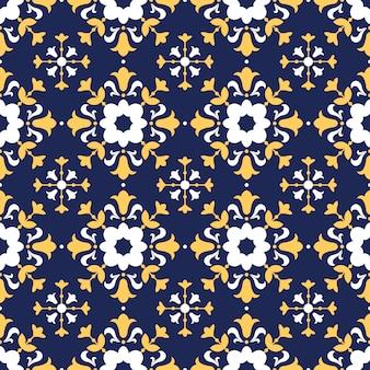 Patrón de talavera, azulejos portugal, azulejo marroquí