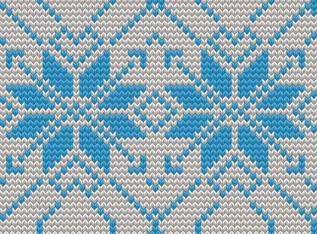 Patrón de tejer sin costuras suéter de navidad. y también incluye