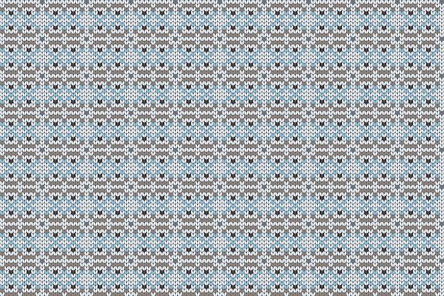 Patrón de tejido de vacaciones de navidad e invierno para cuadros, diseño de suéter. patrón sin costuras.