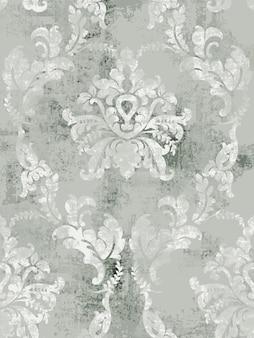 Patrón de textura barroca