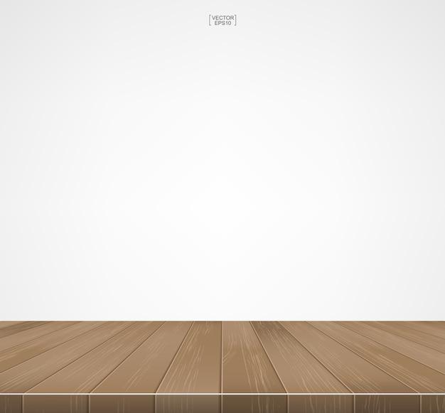 Patrón y textura de piso de madera para el fondo