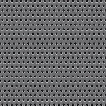 Patrón de textura de rejilla de placa de metal.