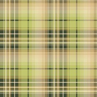 Patrón de textura de tela de verificación de píxeles de color beige verde