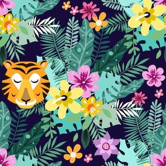 Patrón de tigre
