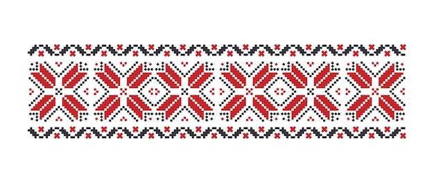 Patrón tradicional ucraniano. aislado.