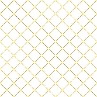 Patrón transparente en colores blanco y dorado.