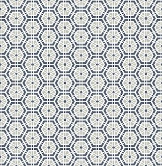 Patrón transparente geométrico árabe