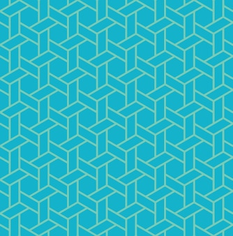 Patrón transparente geométrico islámico