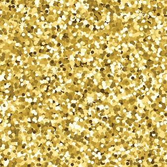 Patrón transparente oro espumoso