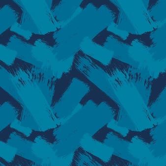 Patrón de trazo de pincel abstracto