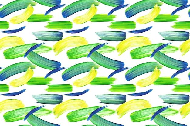 Patrón de trazo de pincel de diseño acuarela