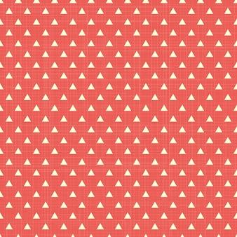 Patrón de triángulo en textil, fondo geométrico abstracto. ilustración de estilo creativo y de lujo.