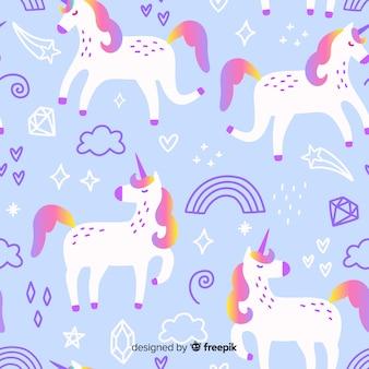 Patrón de unicornio