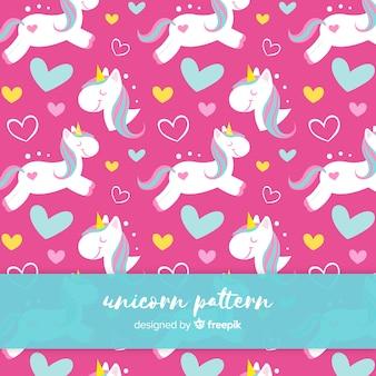 Patrón de unicornios