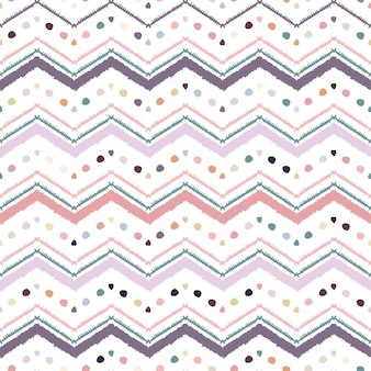 Patrón de zigzag abstracto para un diseño de portada