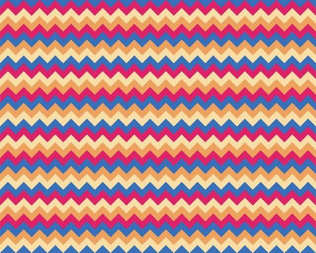 Patrón de zigzag sin costuras. color de fondo en zig zag.