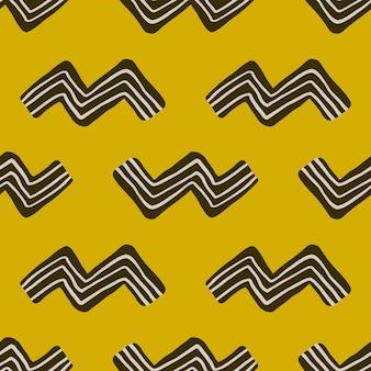 Patrón en zigzag fondo de pantalla de arte moderno.