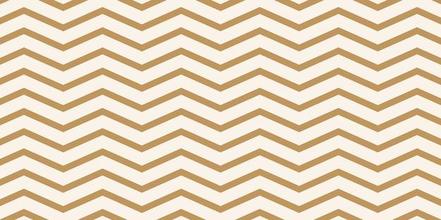 Patrón de zigzag marrón claro