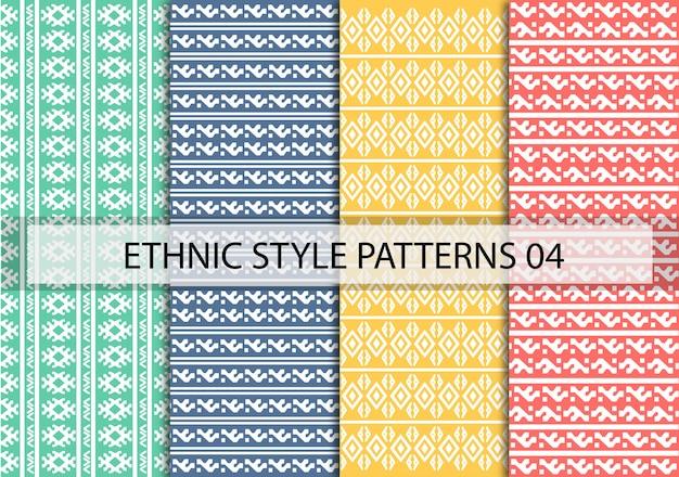 Patrones de estilo étnico