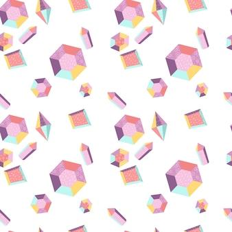 Patrones sin fisuras con cristales