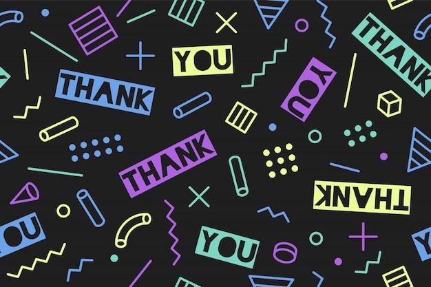 Patrones sin fisuras para el día de acción de gracias