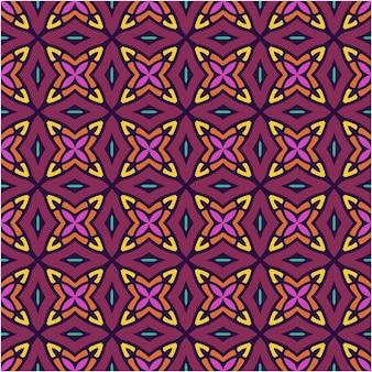Patrones sin fisuras con estilo abstracto