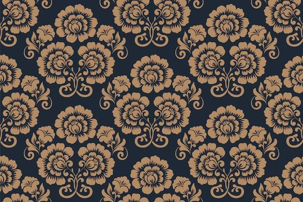 Patrones sin fisuras florales ornamentales