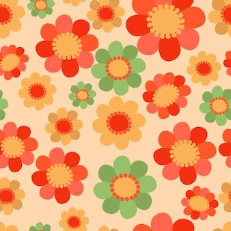 Patrones florales sin costura