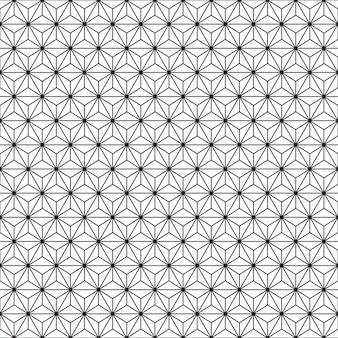 Patrones geométricos sin fisuras. fondo blanco y negro