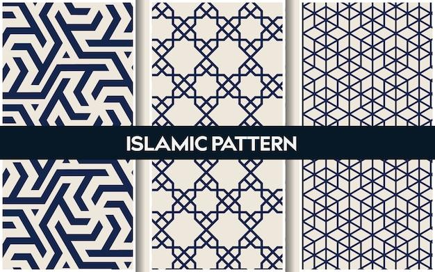 Patrones orientales islámicos, patrón geométrico árabe inconsútil