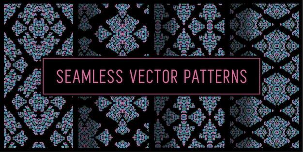 Patrones ornamentales abstractos