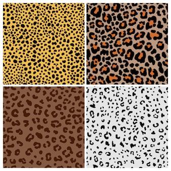 Patrones de piel de gato manchado