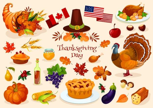 Pavo tradicional del día de acción de gracias