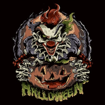 Payaso de halloween