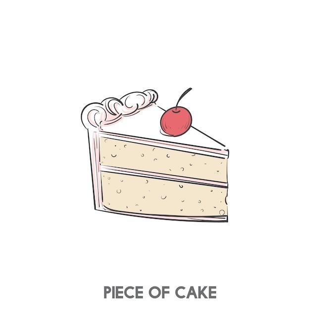 Un pedazo de la torta