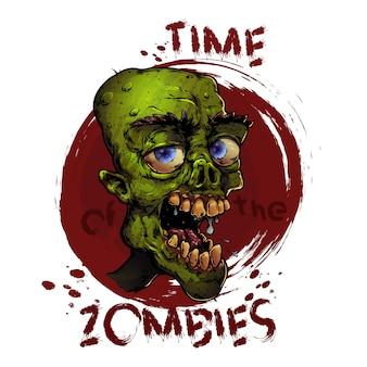 Pegatina zombie