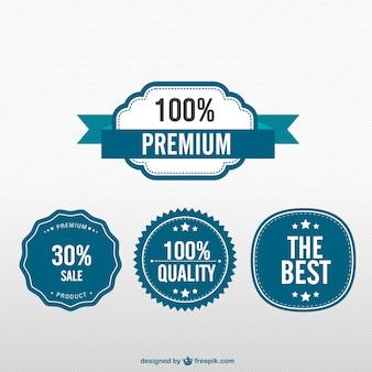 Pegatinas de calidad premium