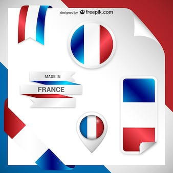 Pegatinas de francia