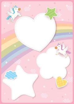 Pegatinas de unicornio