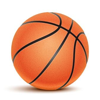 Pelota de baloncesto aislada