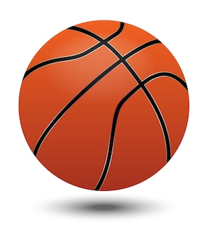Pelota de baloncesto naranja