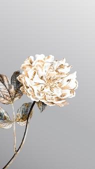 Peonía floral