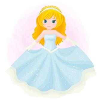 Pequeña princesa linda