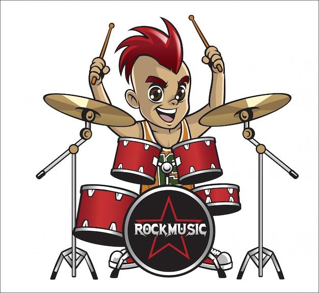 Pequeño baterista